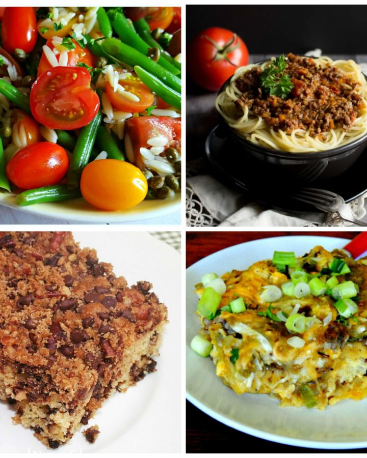 Meal Plan Monday #131 recipe link up with four featured dishes.