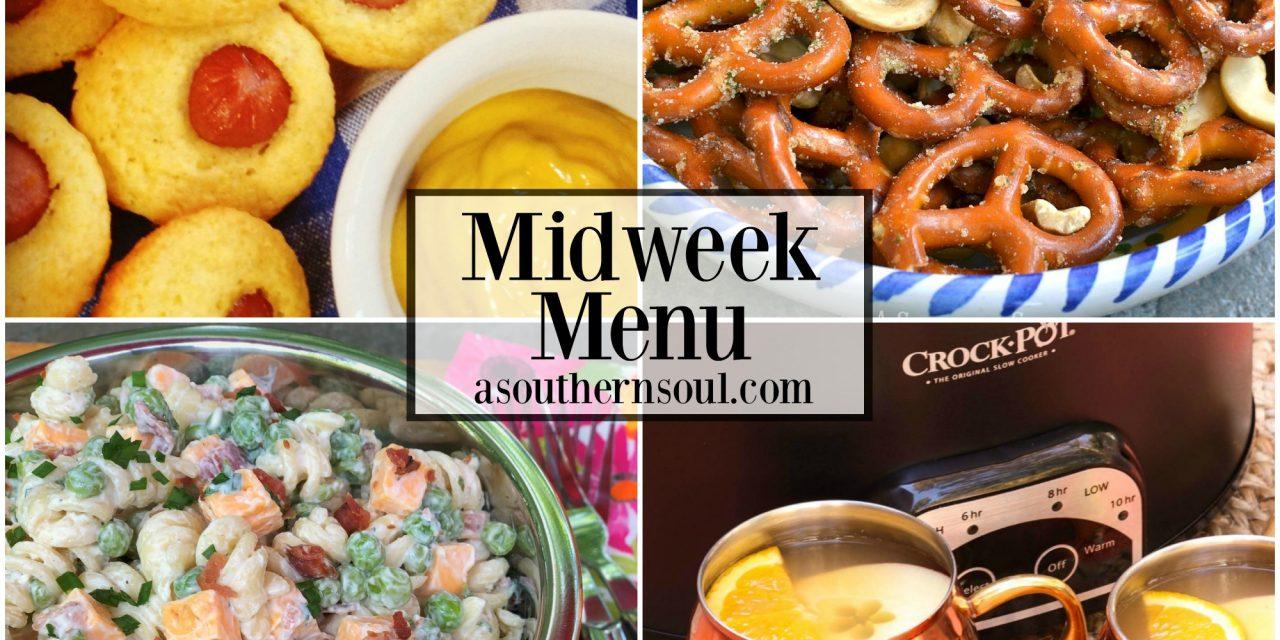 Midweek Menu #26 ~ Corn Dog Muffins