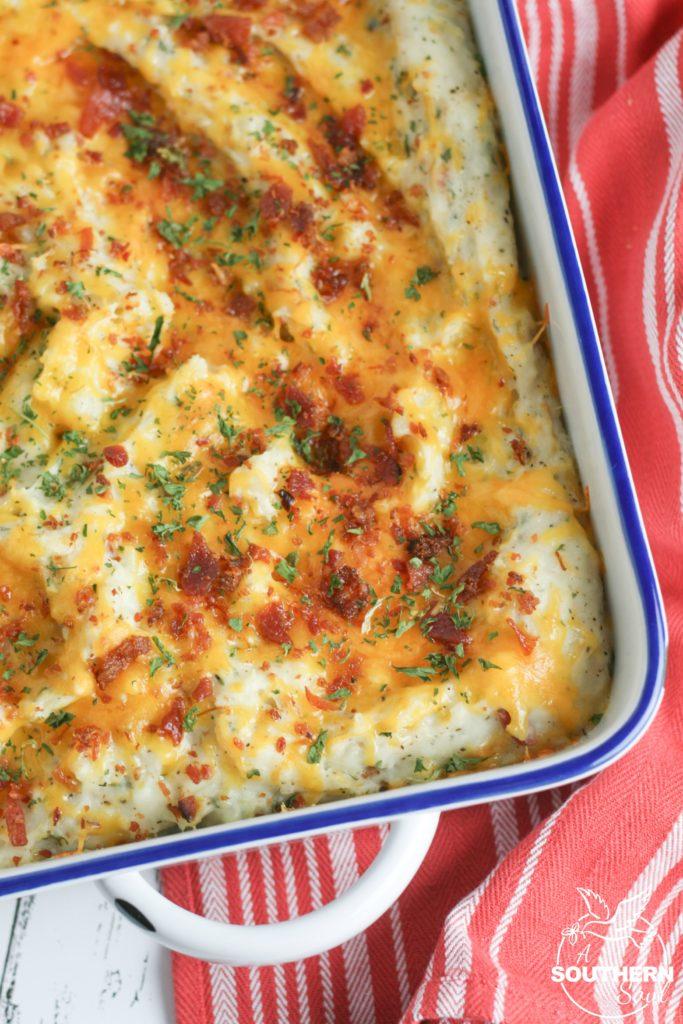 Twice Baked Potato Casserole A Southern Soul