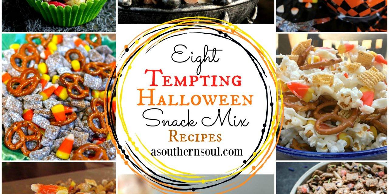 Eight Tempting Halloween Snack Mix Recipes