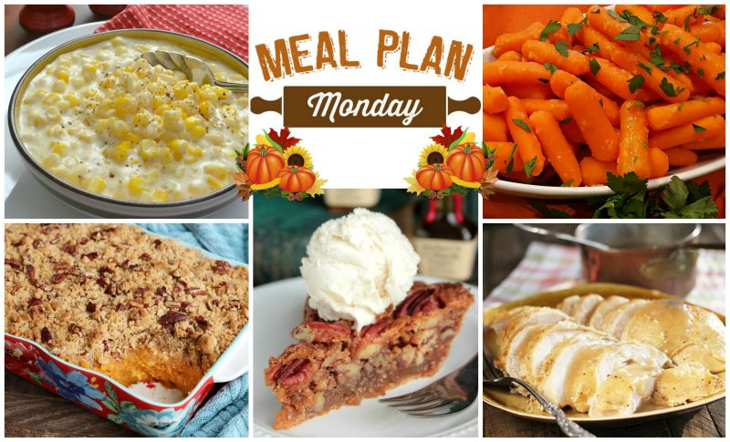 Meal Plan Monday Thanksgiving 2018