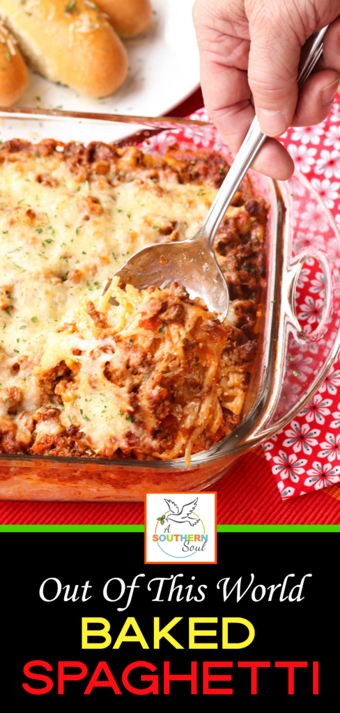 With a creamy, cheesy center, and a meaty sauce, this pasta casserole is comfort food taken to a whole new level!