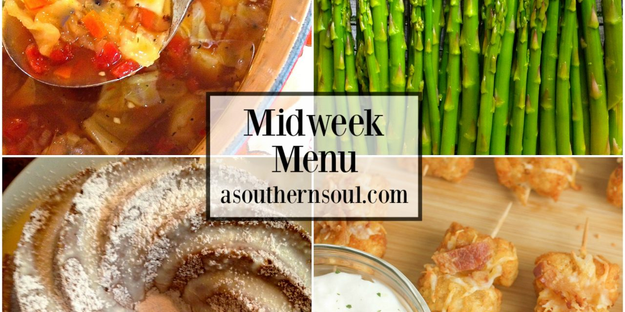 Midweek Menu #38 ~ Amazing Roasted Cabbage Soup