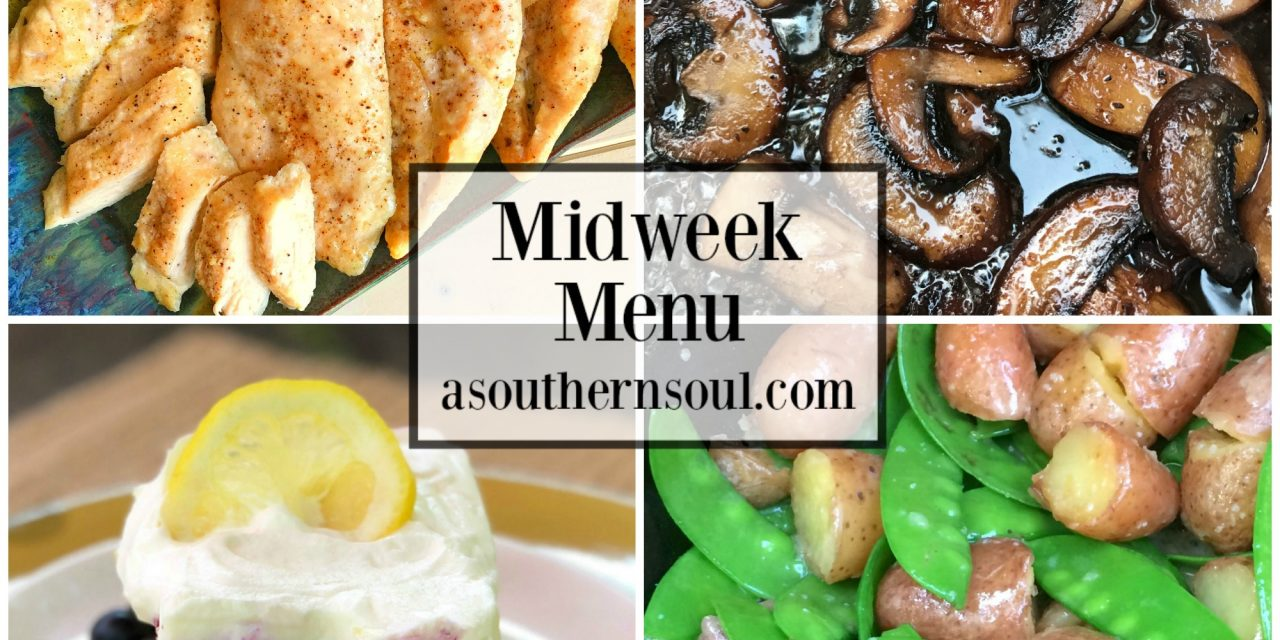 Midweek Menu #41 – Oven Roasted Chicken Breasts