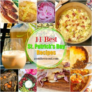 Celebrate the Irish with eleven of the BEST St. Patrick's Day recipes. From pot roast, cabbage soup, corned beef Reuben sliders, to soda bread and Bailey's Irish cream, there's something in this collection to have everyone feeling like they've found their own pot of gold!