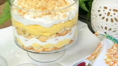 Banana Pudding Trifle A Southern Soul
