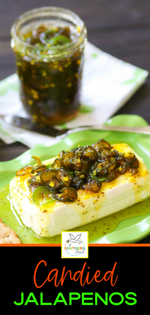 Fresh jalapenos cooked with sugar, spices and just the right amount of seasoning are turned into an irresistible dish that's perfect for burgers, dogs, salads, sandwiches and appetizers.