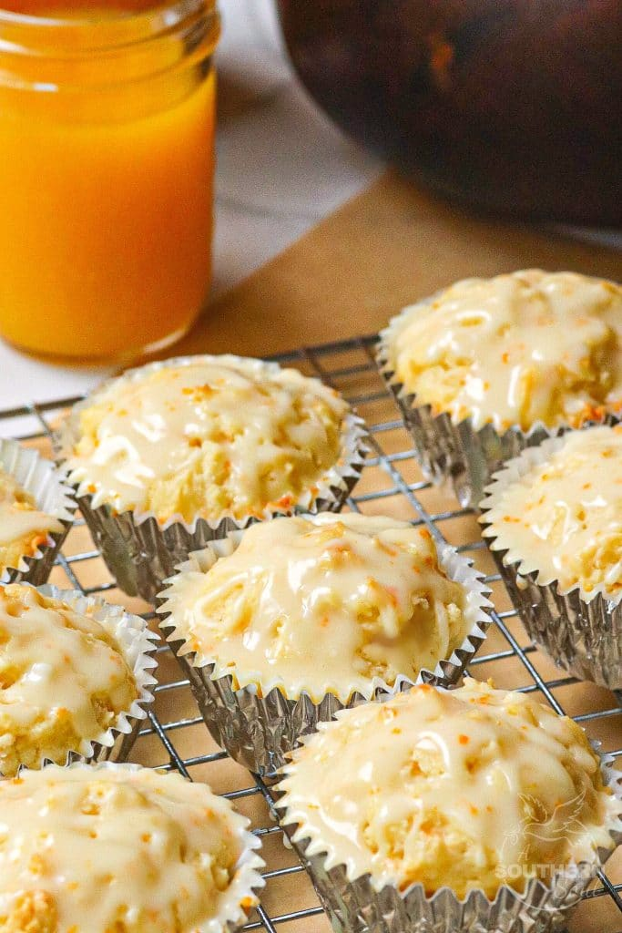 Orange Muffins made with fresh juice and zest are tender and soft. They are the perfect way to start the day!