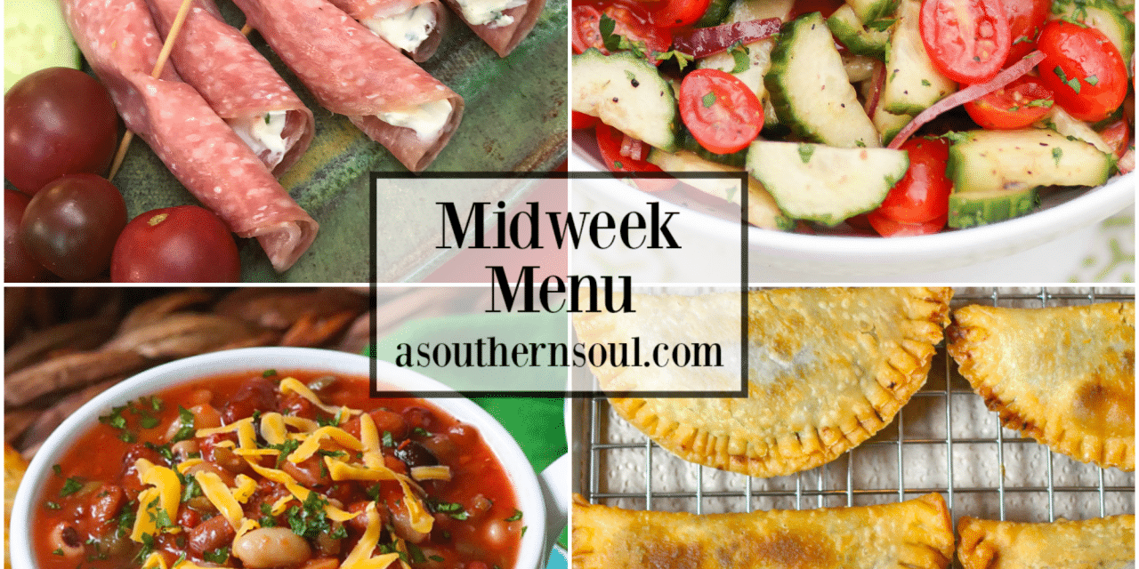 Midweek Menu #66 – Soup & Salad