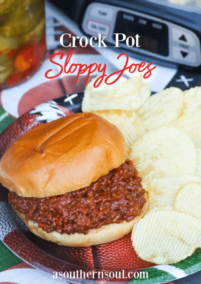 Meaty Sloppy Joes made in the crock pot are loaded with rich flavors. Slow cooked with brown sugar, ketchup, tomato sauce and spices this homemade recipe is a meat lovers dream.