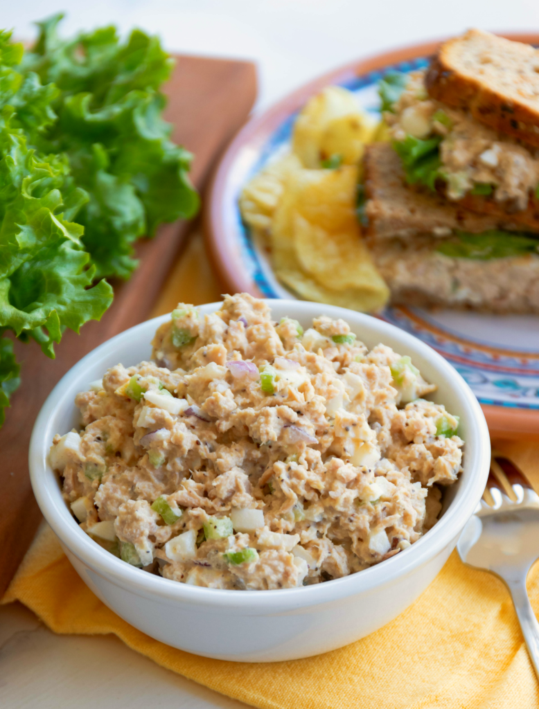 All Time Best Tuna Salad is simple to make! Make with tuna, celery, onion, eggs and mayonnaise then seasoned perfect. This will become your go-to recipe for the All Time Best Tuna Salad!