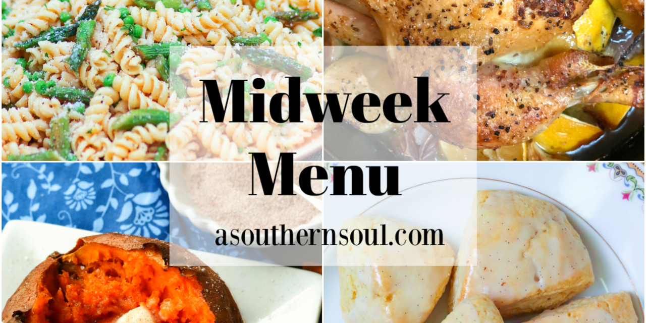 Midweek Menu #88 – Roast Chicken And How To Make Recipe Substitutions Like a Pro
