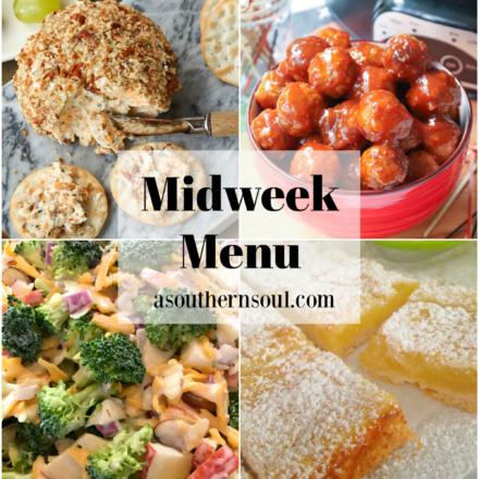 Midweek Menu #89 – Crock Pot Meatballs