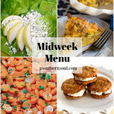 Midweek Menu #93 – Sausage Cornbread Quiche