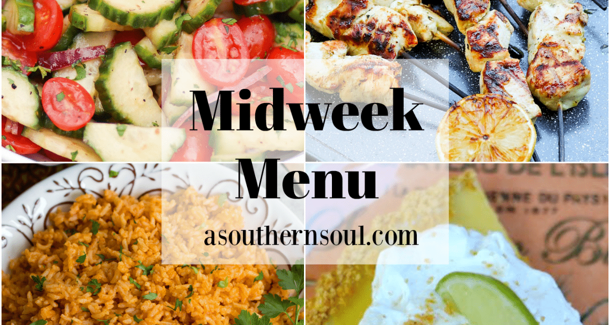 Midweek Menu #94 – Grilled Greek Chicken Skewers
