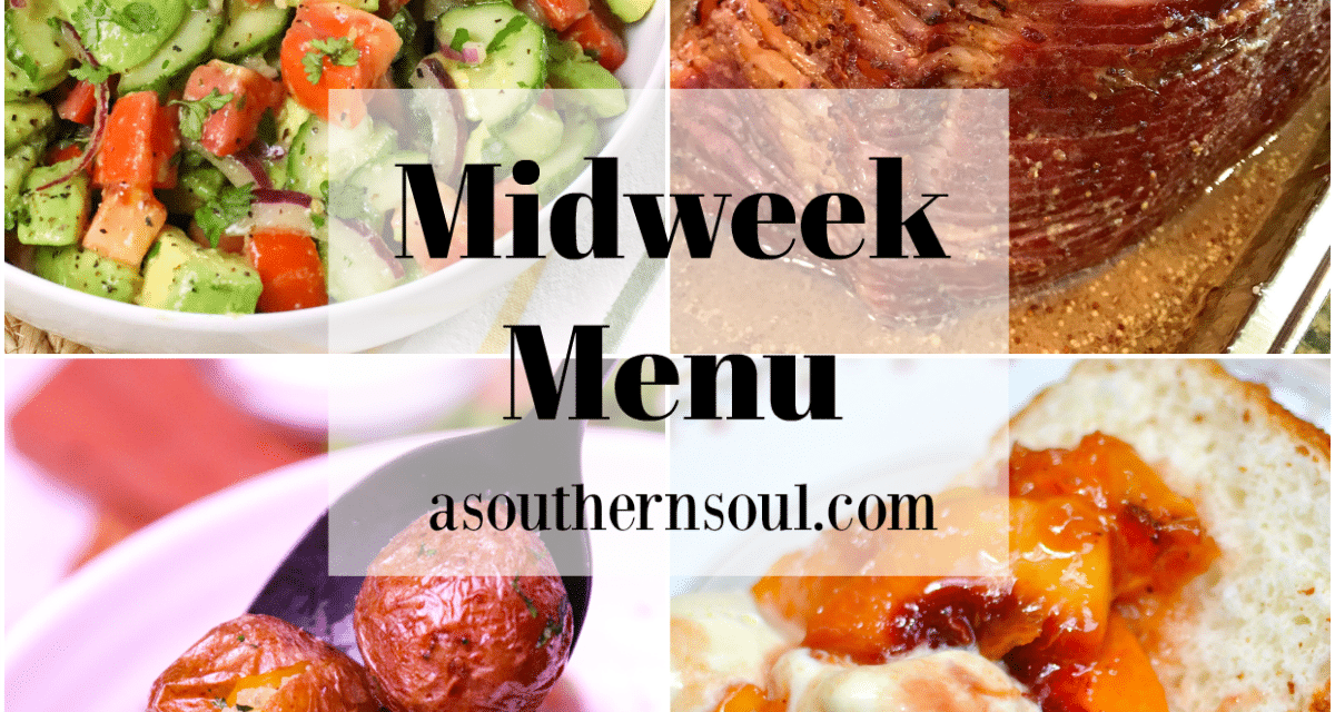 Midweek Menu #97 – Glazed Baked Ham