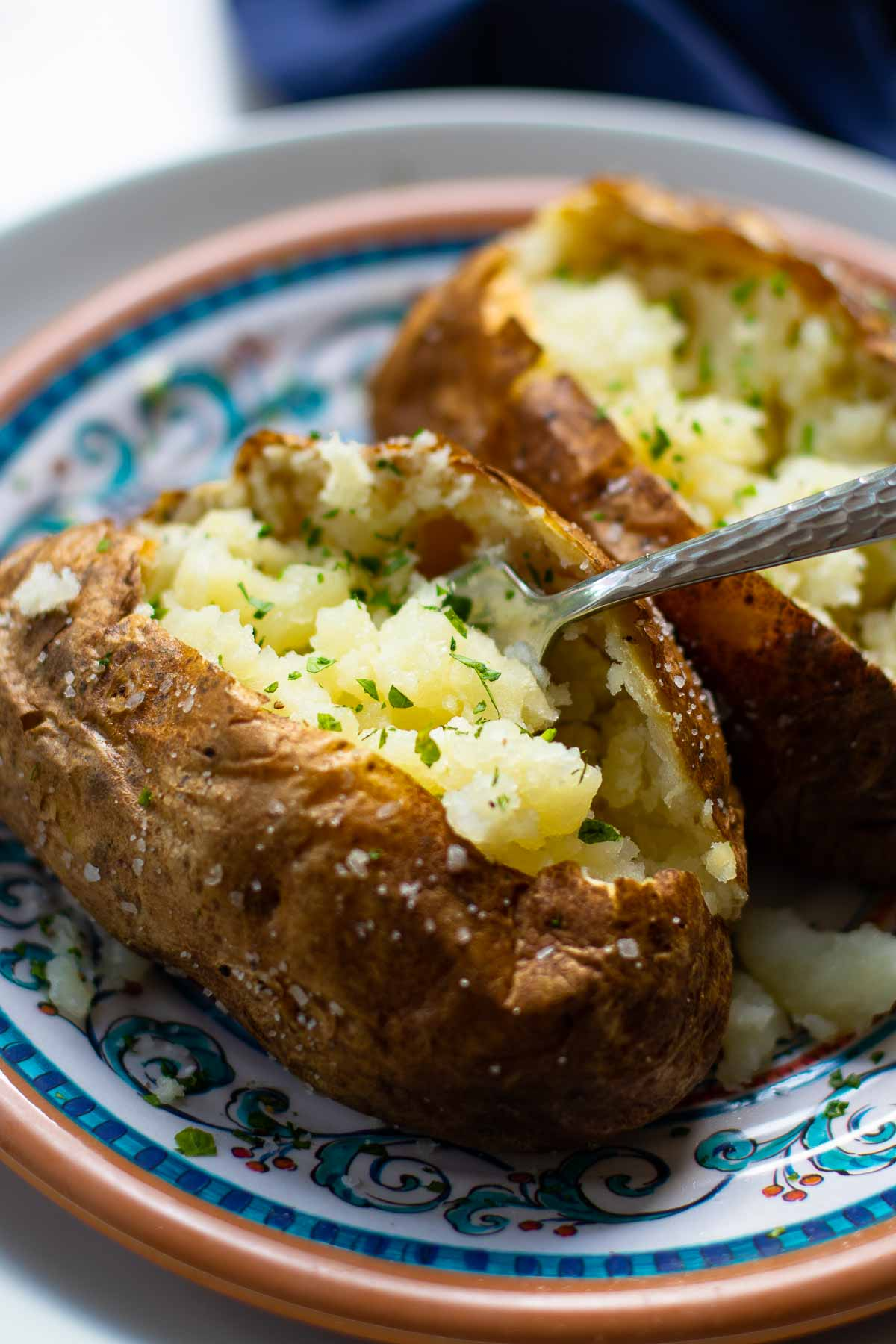 Air Fryer Baked Potatoes A Southern Soul