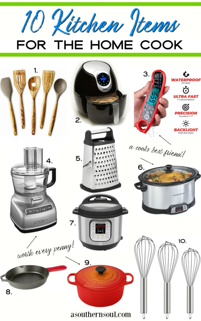 10 kitchen items for the home cook from Amazon.