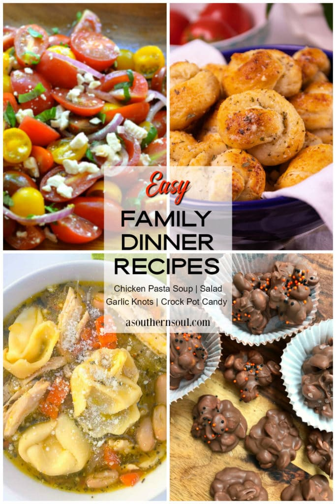 Easy Family Dinner Recipes for Midweek Menu on Pinterest.