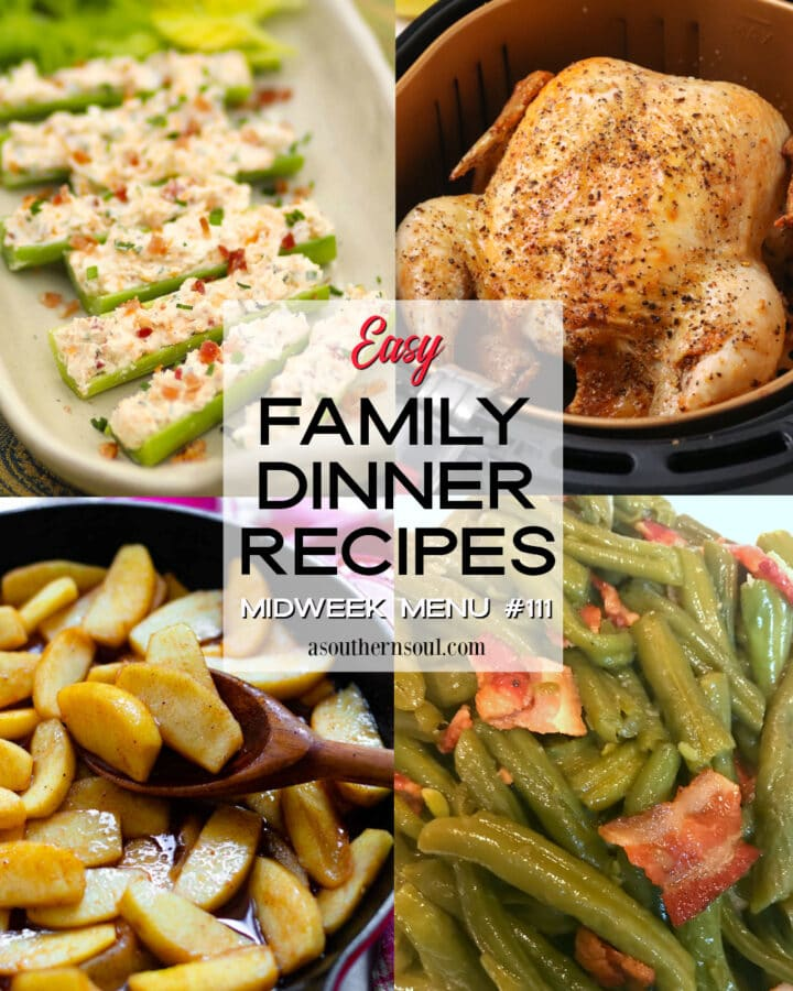 Easy Family Dinner Recipes for Midweek Menu #111.