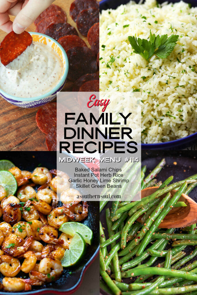 Easy Family Dinner Recipe make Midweek Menu #114 a winner at the supper table!