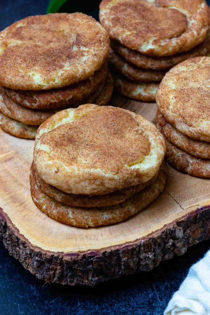 The best Snickerdoodle Cookies are tender, sweet and full of cinnamon.