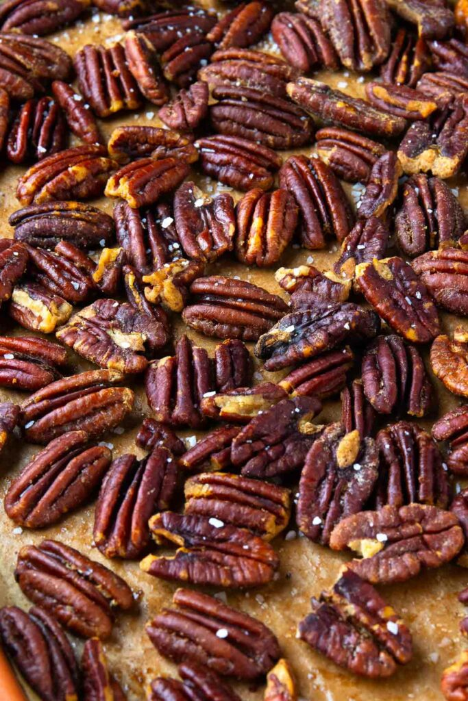 How To Toast Pecans in the oven or one the stove top.