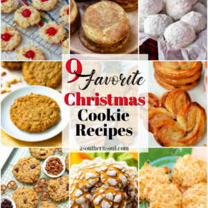 9 Favorite Christmas Cookie Recipes that are easy to make and perfect for the holidays.