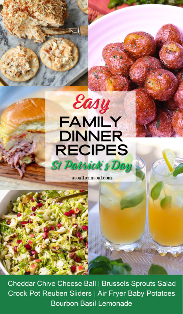 Midweek Menu #130 celebrated St. Patrick's Day with 5 amazing recipes.