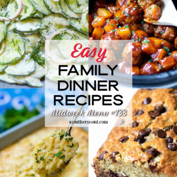 4 East Family Dinner Recipes perfect for Midweek Menu.