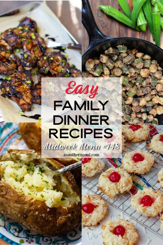 4 Easy Family Dinner Recipes for Midweek Menu 148