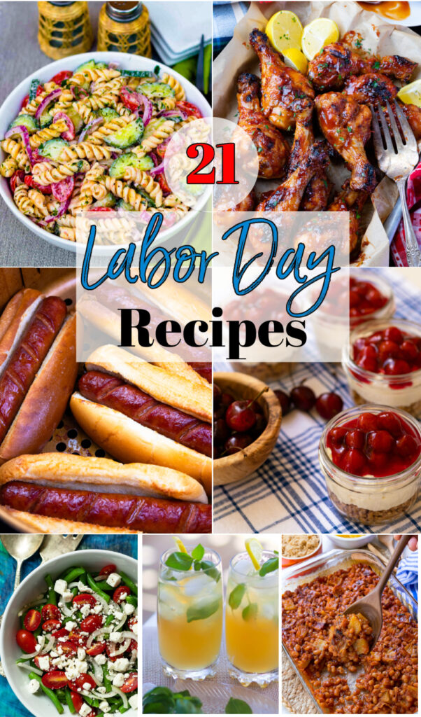 21 Labor Day Recipes for the perfect fun celebreation.