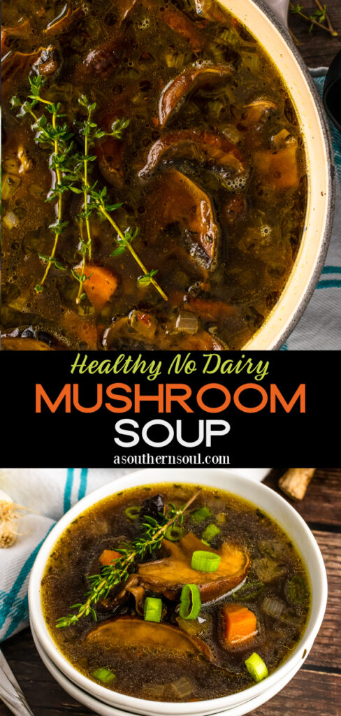 Mushroom Soup 2 images for Pinterest.