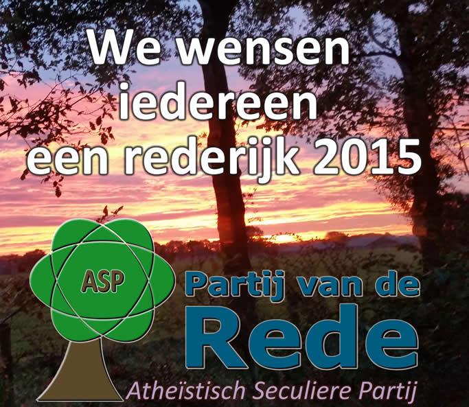 Nieuwjaarswens2015PvdRede