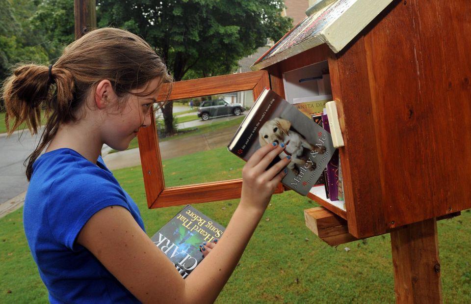 маленькие свободные библиотеки