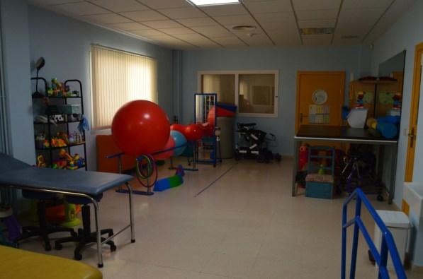 Sala fisioterapia CAIT