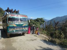Public transport - wobbly, crowded, decorative - largely functional - a bit scary on the small windy roads with sheer drops down the mountain!