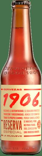 Cerveza Reserva 1906 ESTRELLA GALICIA- Botella 33 cl - A Spanish Bite
