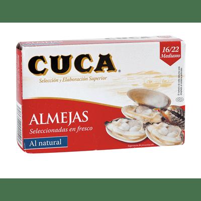 Almejas al Natural CUCA - A Spanish Bite
