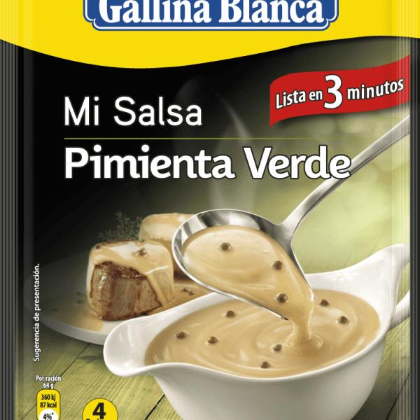 Salsa Pimienta Verde GALLINA BLANCA – 50 gr - A Spanish Bite