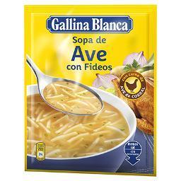 Sopa De Ave  con Fideos GALLINA BLANCA - A Spanish Bite