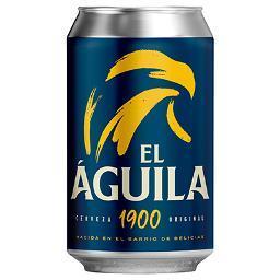 Cerveza EL ÁGUILA 1900  Lata  33 cl - A Spanish Bite