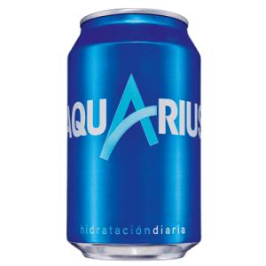 Aquarius Bebida Isotónica Limón . Lata 33 cl - A Spanish Bite
