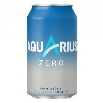 Aquarius Bebida Isotónica Zero Limón . Lata 33 cl - A Spanish Bite
