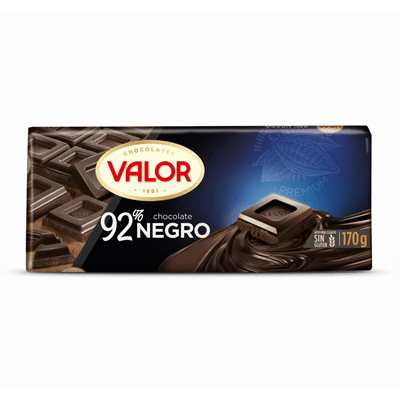 Chocolate negro 92% VALOR - A Spanish Bite