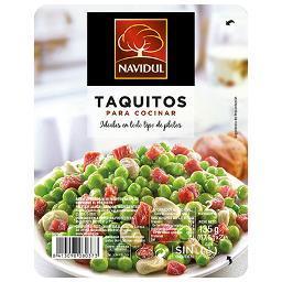 Jamón Curado en Taquitos NAVIDUL- 120 Gr - A Spanish Bite
