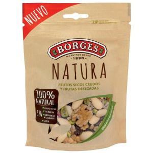 Cóctel Frutos Secos Natura BORGES- 130 gr - A Spanish Bite
