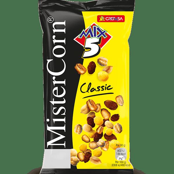Cóctel frutos Secos Mistercorn GREFUSA- 130 gr - A Spanish Bite