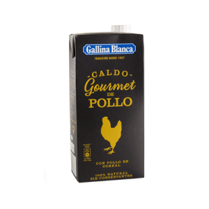 Caldo Casero Pollo Gourmet GALLINA BLANCA 1 LITRO - A Spanish Bite