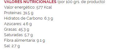 Pipas Supremas FACUNDO- 120 gr - A Spanish Bite
